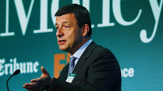 Executive Vice President and General Manager of Saras Group Dario Scaffardi (Reuters/Luke MacGregor)