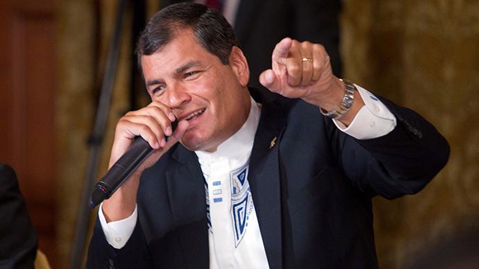 Ecuadorean President Rafael Correa (Reuters / Guillermo Granja)
