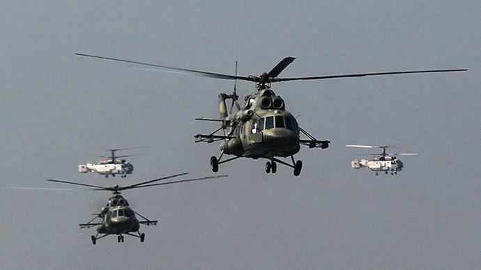 Mi-17 helicopters (RIA Novosti / Alexey Kudenko)