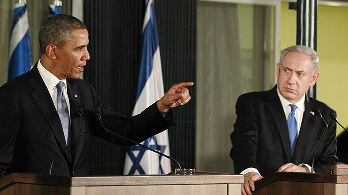 U.S. President Barack Obama (L) and Israel's Prime Minister Benjamin Netanyahu (Reuters / Jason Reed)