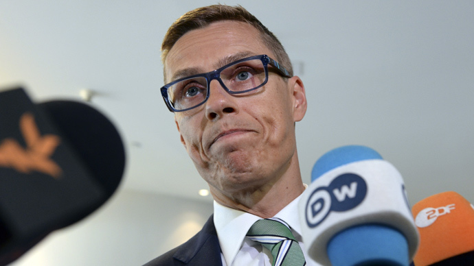 The Prime Minister of Finland Alexander Stubb (AFP Photo / Thierry Charlier)