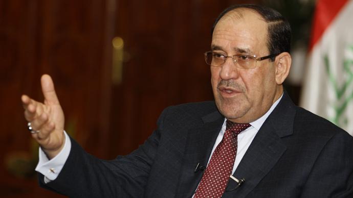 Iraq's Prime Minister Nour al-Maliki (Reuters / Thaier Al-Sudani)