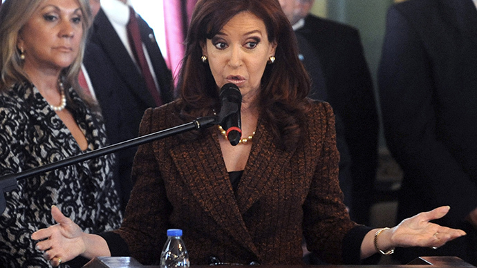 Argentine President Cristina Fernandez de Kirchner (AFP Photo / Norberto Duarte)