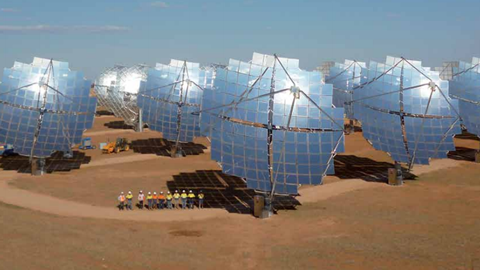 Mildura Solar Power Station (Image from solarsystems.com.au)