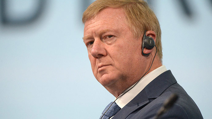 Anatoly Chubais, Chief Executive Officer and Chairman of the Executive Board, RUSNANO Corporation (RIA Novosti / Grigoriy Sisoev)