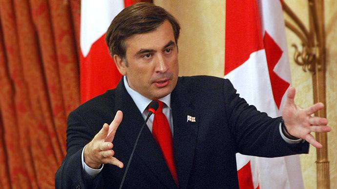 Former Georgian President Mikhail Saakashvili (AFP Photo / Irakli Gedenidze)