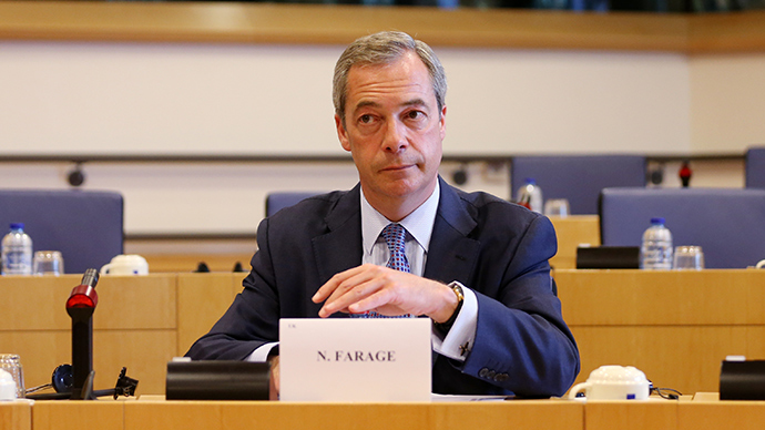 UK Independence Party (UKIP) leader, Nigel Farage, says the UK government should not allow Islamic State militants to return to British soil. (Reuters / Francois Lenoir)