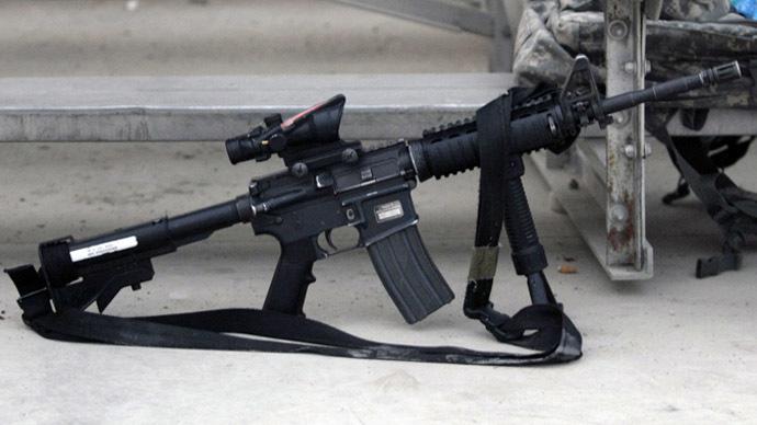 AR-15 rifle (Reuters/Bruno Domingos)