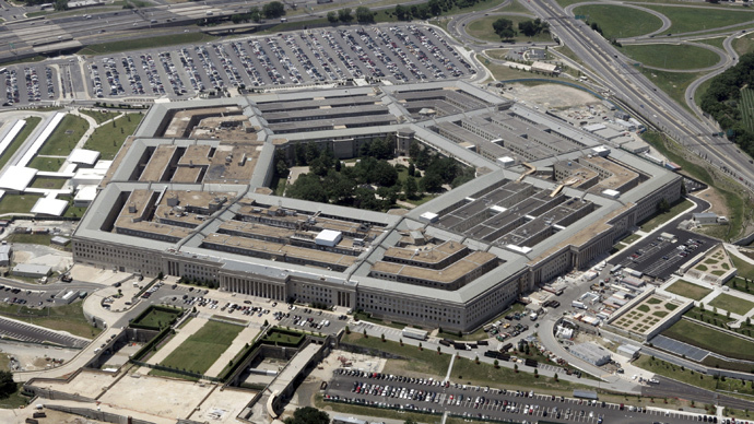An aerial view of the Pentagon building in Washington (Reuters)