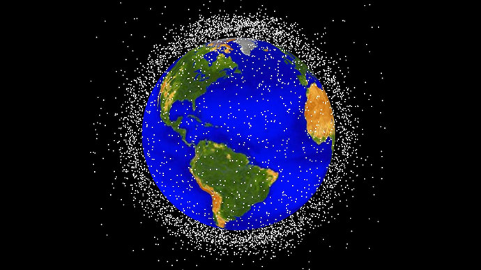 Most orbital debris is in low Earth orbit, where the space station flies. Image Credit: NASA