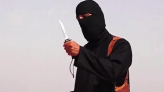An image grab taken from YouTube video 'ISIS Beheading of Journalist James Foley Captures World's Attention'