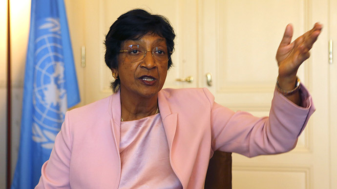 Outgoing U.N. Human Rights Commissioner Navi Pillay (Reuters / Ruben Sprich)