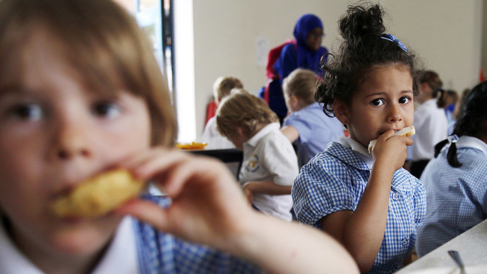 There has been a 19-percent increase in the number of UK citizens hospitalized for malnutrition over the past twelve months, new figures reveal. (Reuters / Suzanne Plunkett)