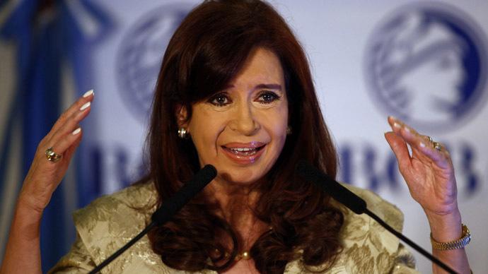Argentina's President Cristina Fernandez de Kirchner (Reuters/Marcos Brindicci)