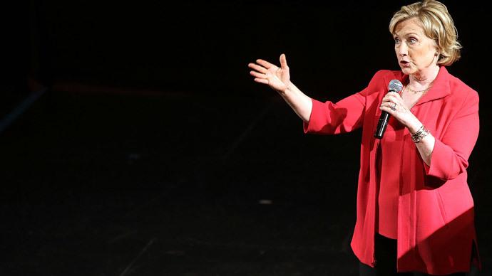 Former Secretary of State Hillary Clinton.(AFP Photo / Spencer Platt)