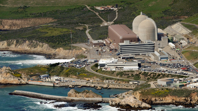 Aerial view of the Diablo Canyon Nuclear Power Plant.(AFP Photo / Mark Ralston)