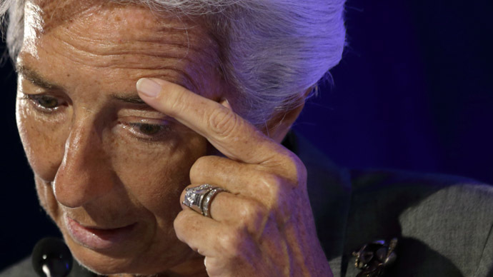 International Monetary Fund Managing Director Christine Lagarde (Reuters/Philippe Wojazer)