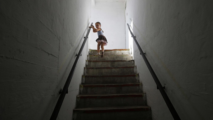 Almost two out of three British adults would hesitate to help a lost child because they fear being falsely accused of something sinister. (Reuters)