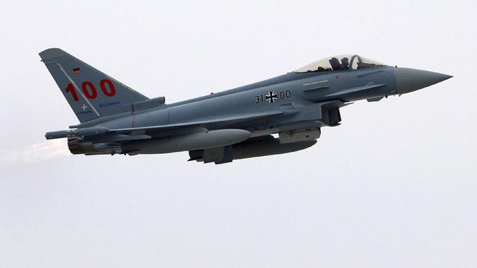 Eurofighter Typhoon (Reuters/Michaela Rehle)