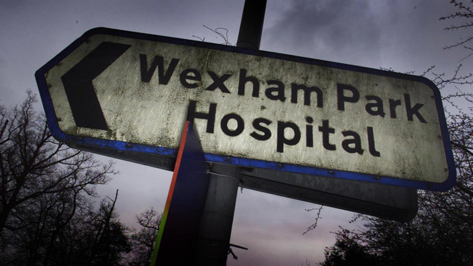 NHS hospitals are experiencing a dramatic rise in the number of patients attempting to self-harm and take their own lives. (Reuters/JE/BR)