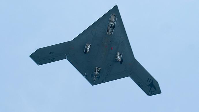 An X-47B drone (Reuters / Rich-Joseph Facun)