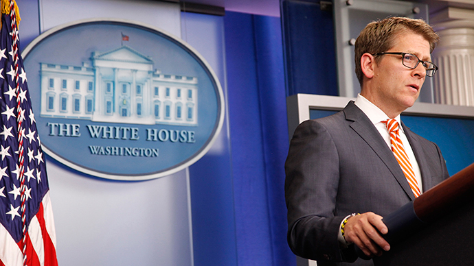 White House spokesman Jay Carney (Reuters / Jonathan Ernst)
