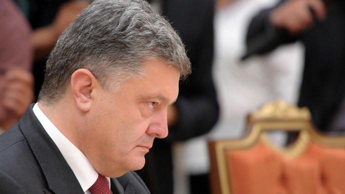 Ukrainian President Petro Poroshenko.(RIA Novosti / Alexei Druzhinin)