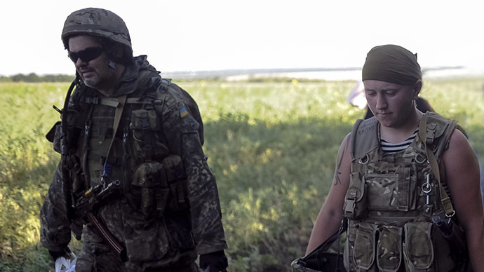 """File photo. Ukrainian army soldiers from battalion """"Aydar"""" (Reuters / Maks Levin)"""