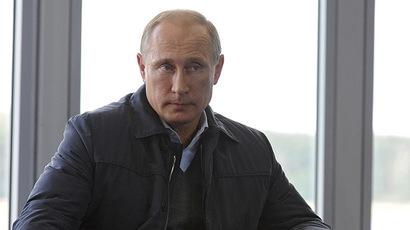 Russian President Vladimir Putin attends the all-Russian youth forum Seliger, held in Tver region August 29, 2014. (Reuters / RIA Novosti / Mikhail Klimentyev)