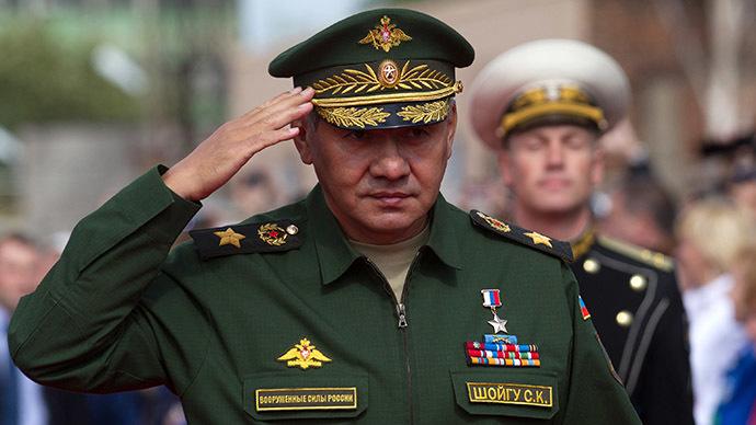 Russian Defense Minister Sergey Shoigu (RIA Novosti / Igor Russak)