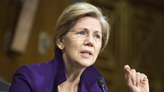 Senator Elizabeth Warren (D-MA) (Reuters / Joshua Roberts)