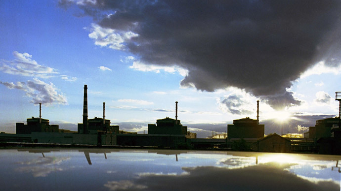 The Zaporozhye nuclear power plant.(RIA Novosti / Falin)