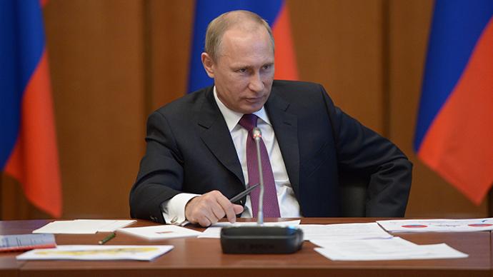 September 1, 2014. Russian President Vladimir Putin (RIA Novosti / Alexey Nikolsky)