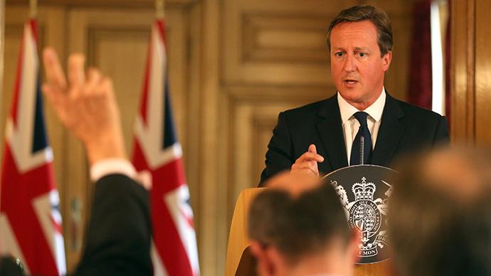 Britain's Prime Minister David Cameron (Reuters / Paul Hackett)