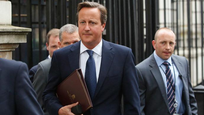 Britain's Prime Minister David Cameron.(Reuters / Luke MacGregor)