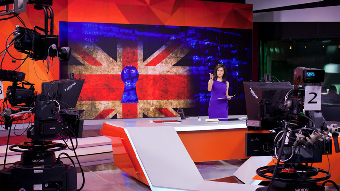 RT is moving from Britain's Freeview Channel 85 to Freeview Channel 135 on Sept 3.