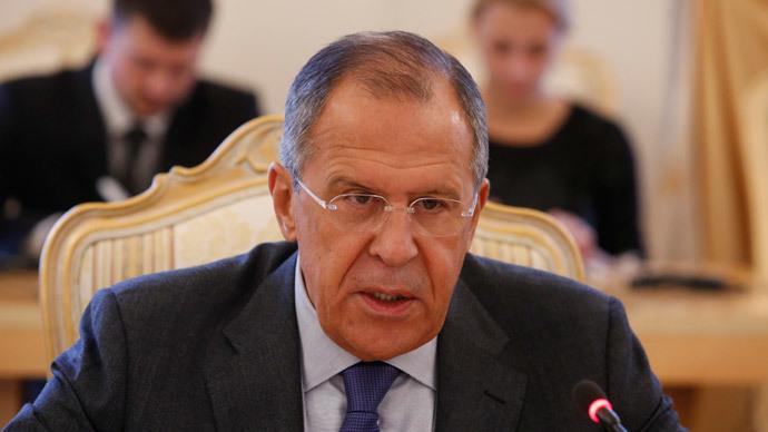 Russia's Foreign Minister Sergey Lavrov.(Reuters / Sergei Karpukhin)