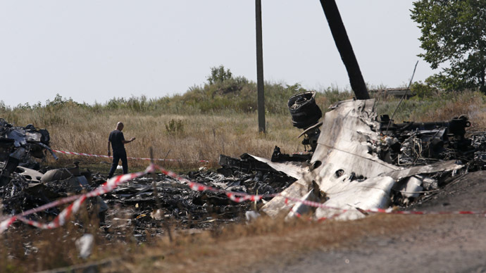 MH17 broke up in mid-air due to external damage – Dutch preliminary report