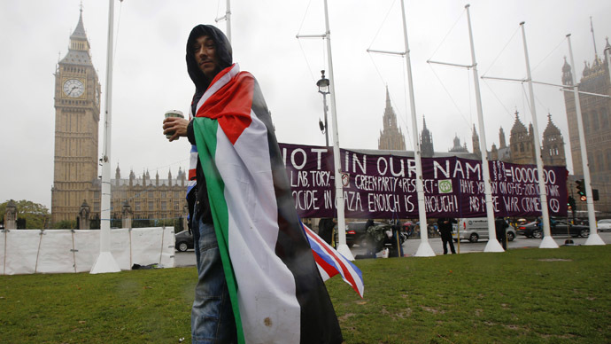 UK MP's pass two state solution