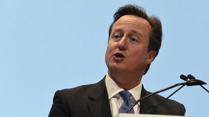 Britain's Prime Minister David Cameron (AFP Photo/Rebecca Naden)