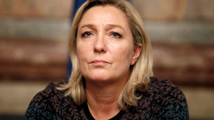 France's far-right National Front political party leader Marine Le Pen.(Reuters / Charles Platiau )
