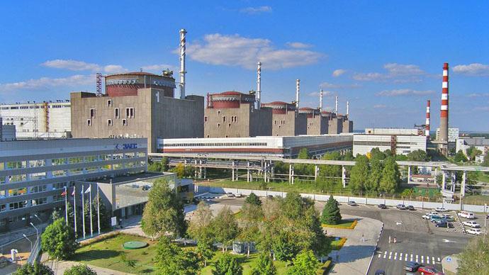 Zaporozhskaya nuclear plant (Photo from www.npp.zp.ua)