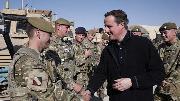Britain's Prime Minister David Cameron. (Reuters/Lefteris Pitarakis)