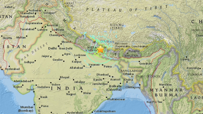 Short report on earthquake in nepal