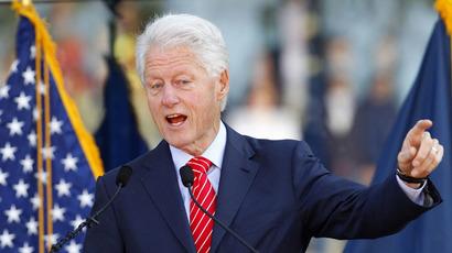 Former U.S. President Bill Clinton (Reuters/John Sommers)