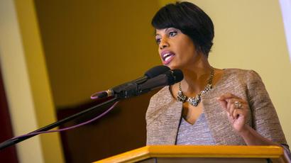Baltimore mayor Stephanie Rawlings-Blake. (Reuters/Eric Thayer)