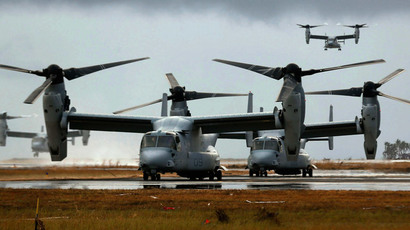 V-22 Osprey - due to be exclusively supplied to Israel in the coming years.(Reuters / Wolfgang Rattay)
