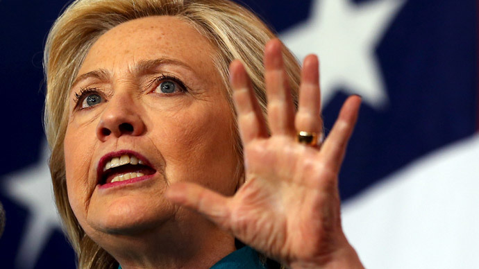 U.S. Democratic presidential candidate Hillary Clinton.(Reuters / Jim Young )