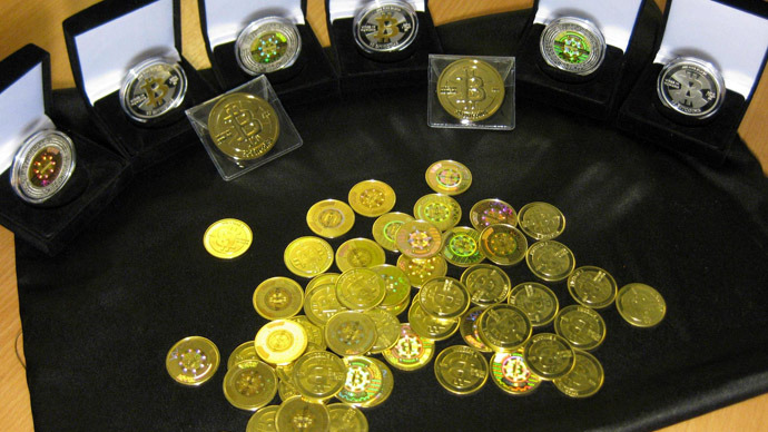 Physical Bitcoins (Image from www.bitcointrading.com)