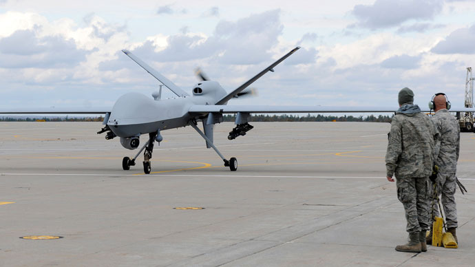 MQ-9 Reaper.(Reuters / Staff Sgt. Ricky Best)